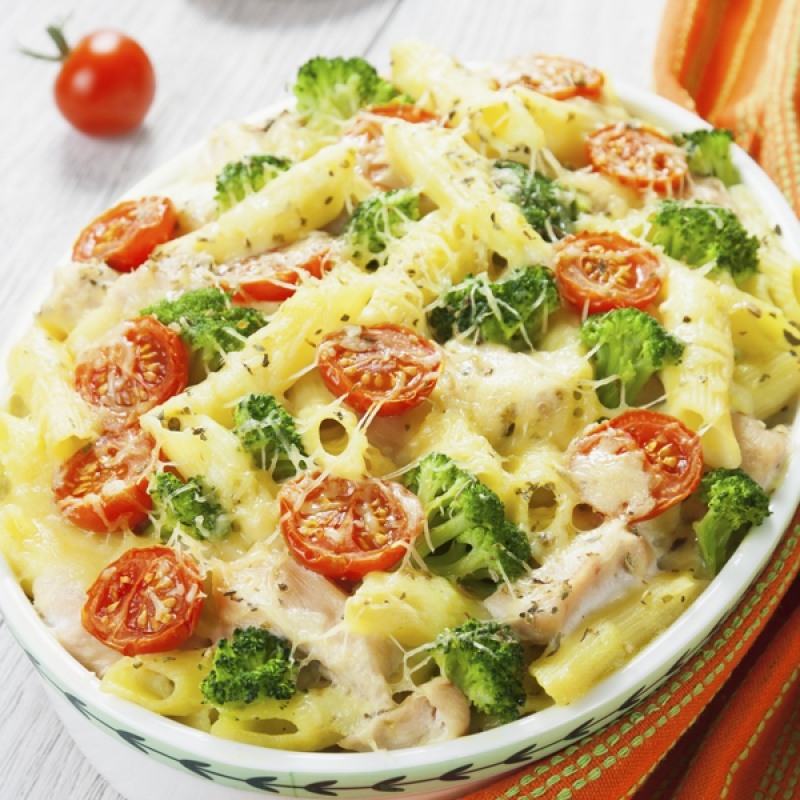 Broccoli And Chicken Pasta Bake Recipe