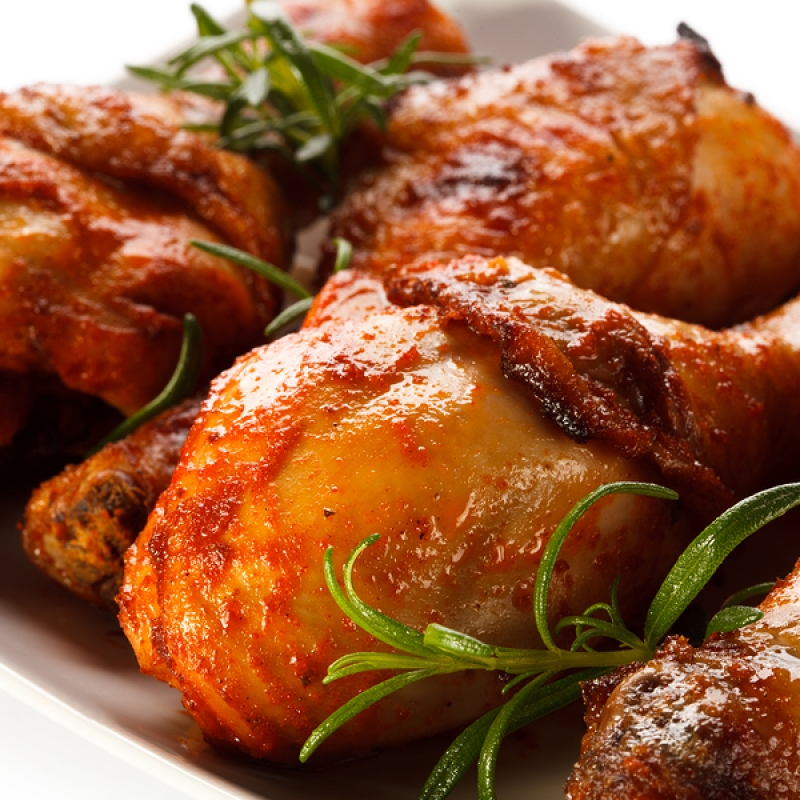 Chicken Drumsticks With Barbecue Sauce Recipe