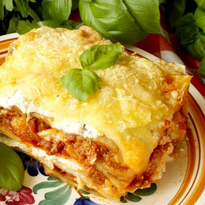 Meat And Ricotta Cheese Lasagna Recipe
