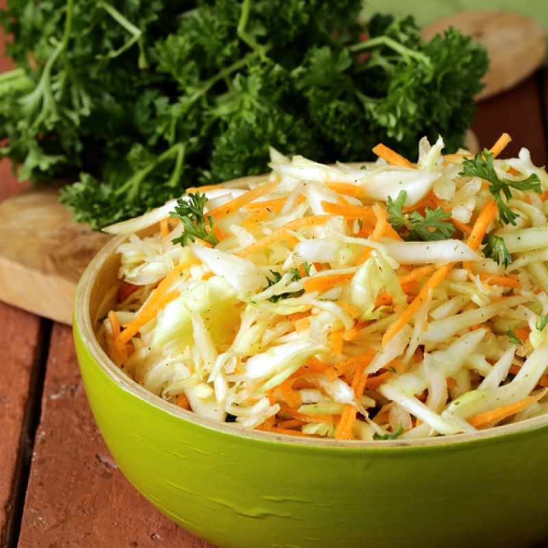 how to cut cabbage for coleslaw food processor